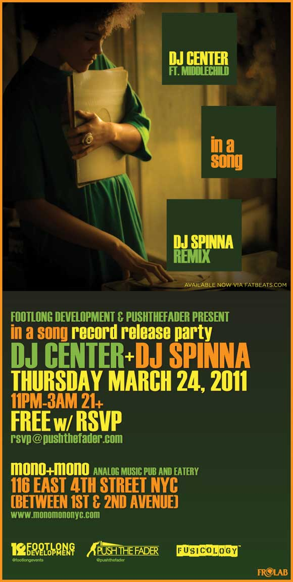 'In a Song' NYC Release Party