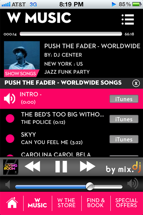 DJ Center_WHotels Mix App