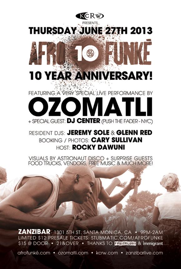 AfroFunke-10YR