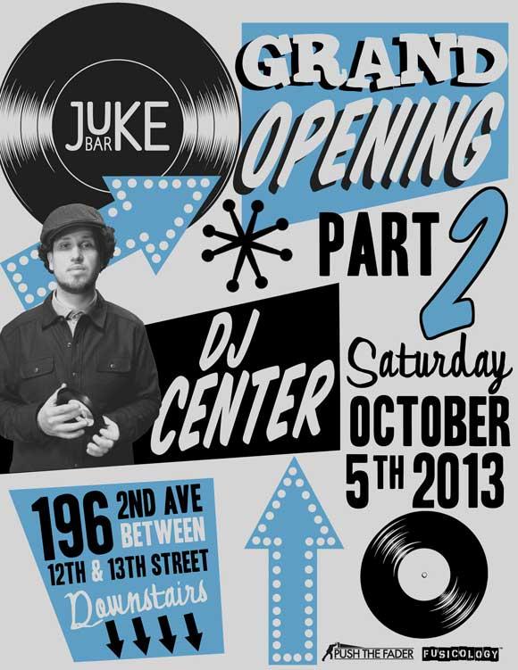 Juke Bar 10.5.13