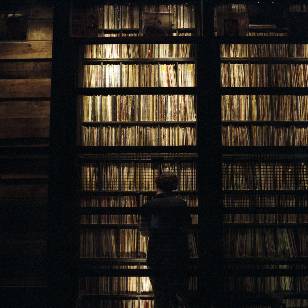 Center in Vinyl Library