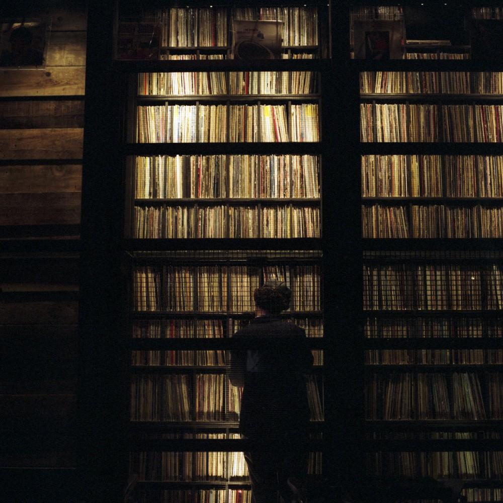 Center in Vinyl Library