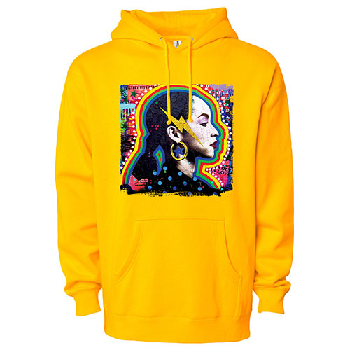 The Paradise Hoodie - Gold